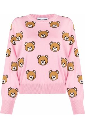 Moschino Teddy bear-intarsia jumper