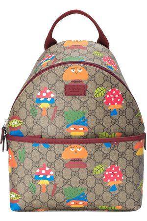 Gucci GG Supreme woodland character-print backpack