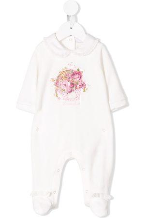 MONNALISA Floral print detail pyjama