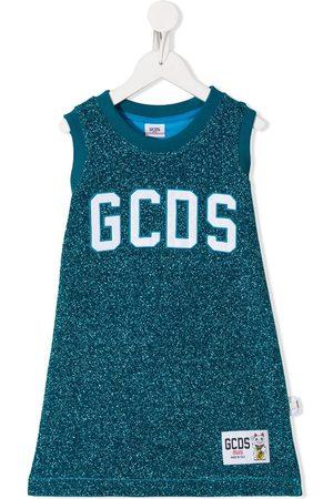 GCDS Glitter tank dress