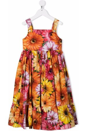 Dolce & Gabbana Floral shift sleeveless dress