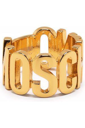 Moschino Logo-detail ring