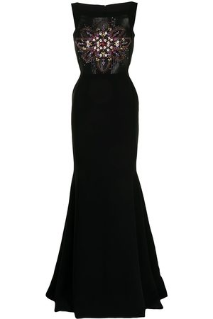 Saiid Kobeisy Sequin-embellished fitted gown