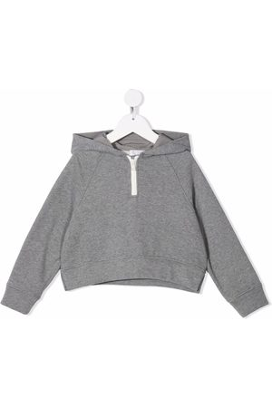 Brunello Cucinelli Cropped pullover hoodie