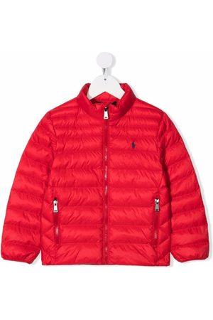 Ralph Lauren Polo Pony-motif high-neck padded jacket