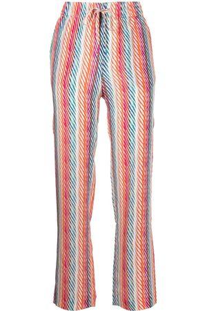 SALONI De Chine Silk Crepe trousers
