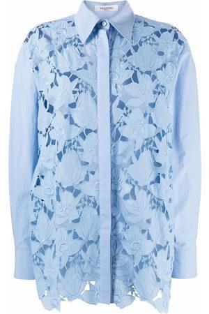 VALENTINO Long-sleeve lace shirt