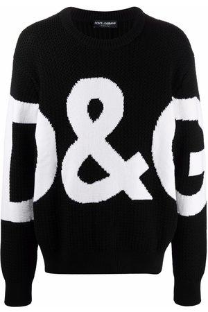 Dolce & Gabbana Heren Gebreide truien - Logo-knit jumper