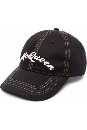 Alexander McQueen Logo-print cap