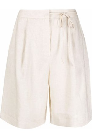 12 STOREEZ Tied-waist shorts