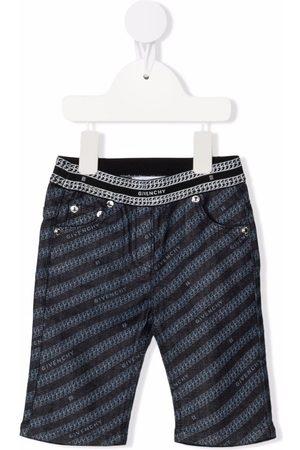Givenchy Logo-print slim-cut trousers