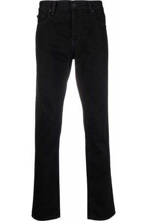 OFF-WHITE Diag-stripe skinny jeans