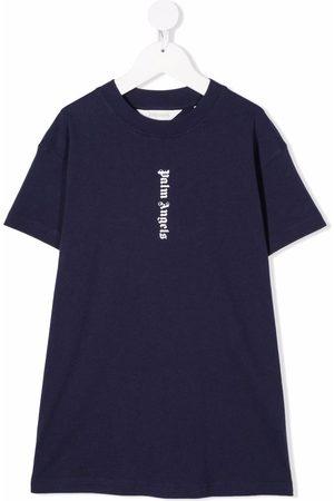 Palm Angels Logo-print T-Shirt dress