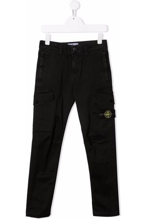 Stone Island Compass-patch cargo trousers