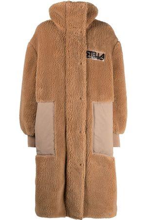 Stella McCartney Luna faux-shearling coat