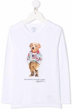 Ralph Lauren Polo Bear-motif cotton T-Shirt