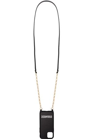 Dsquared2 IPhone 11 logo print chain cover