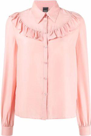 Pinko Ruffle button-down shirt