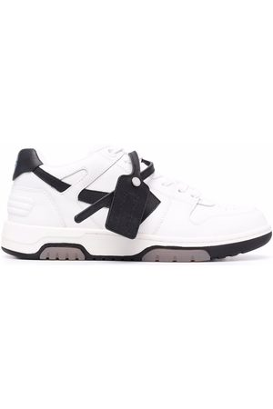 OFF-WHITE OUT OF OFFICE CALF LEATHER BLACK