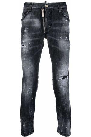 Dsquared2 Mid-rise slim-cut jeans