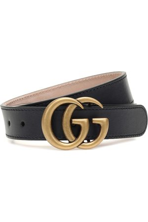Gucci Jongens Riemen - GG leather belt