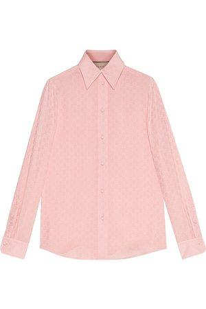 Gucci GG crêpe de Chine shirt