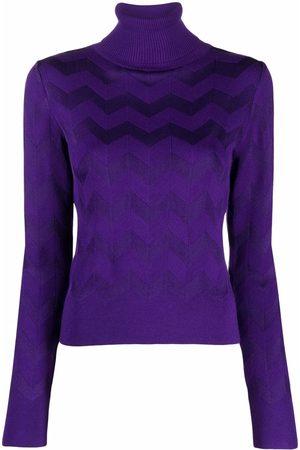 Missoni Signature-knit roll-neck jumper