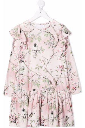 MONNALISA Floral-print dress
