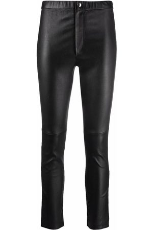 Isabel Marant High-waist leather trousers