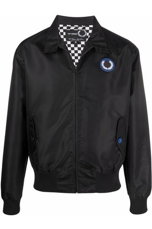 Fred Perry Harrington patched bomber jacket
