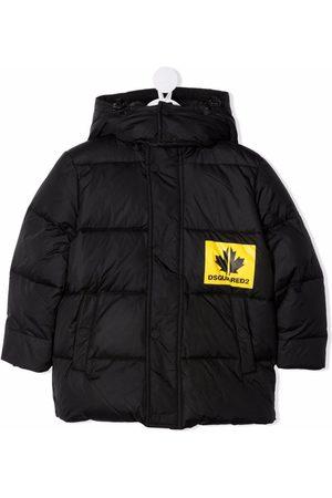 Dsquared2 Chest logo-print padded coat