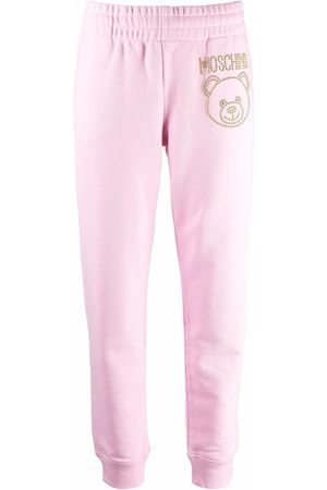 Moschino Studded Toy-Bear track pants