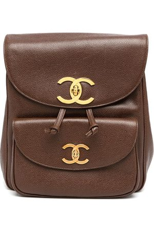 CHANEL 1995 CC Turnlock backpack