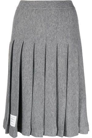 Thom Browne Pleated knee-length skirt