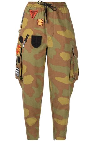 Dsquared2 Camouflage patchwork trousers