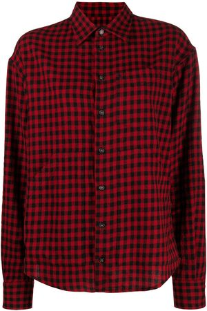 Dsquared2 Gingham check wool shirt