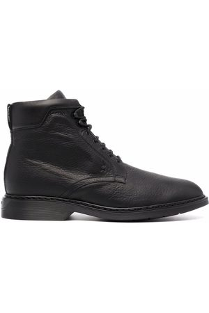 Hogan Lace-up leather boots