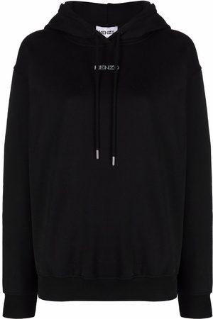 Kenzo Logo-print pullover hoodie