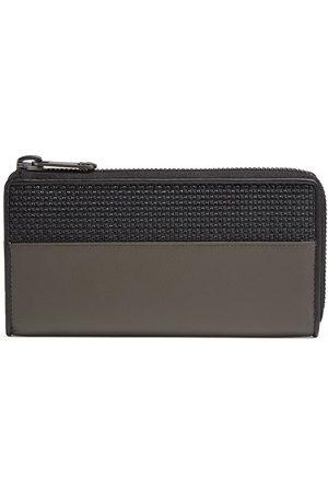 Ermenegildo Zegna Interwoven leather wallet