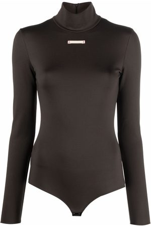 Maison Margiela Roll-neck fitted bodysuit