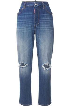 Dsquared2 Dames Stretchbroeken - Boston Jean Stretch Cotton Jeans