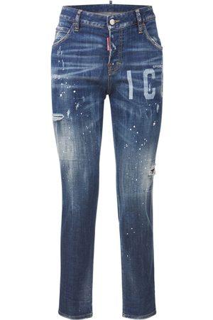 Dsquared2 Meisjes Jeans - Icon Cool Girl Jean Cotton Jeans
