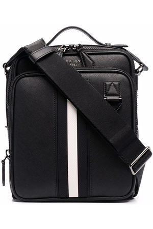 Bally Stripe trim crossbody bag