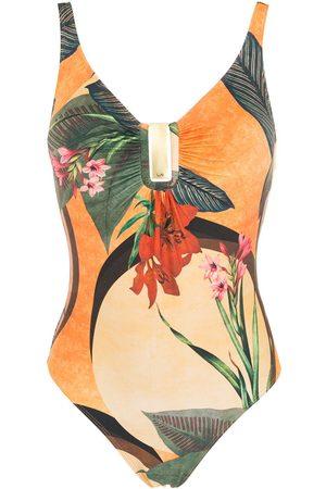 Lygia & Nanny Mirassol floral-print swimsuit