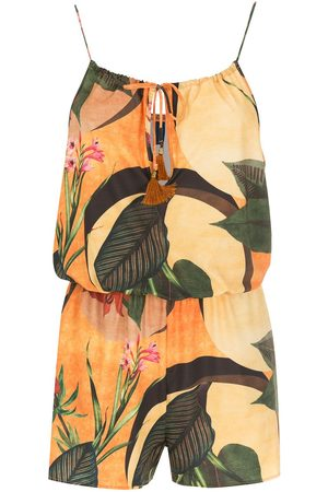 Lygia & Nanny Dames Playsuits - Laya floral-print playsuit