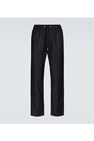 Dolce & Gabbana Drawstring wool pants