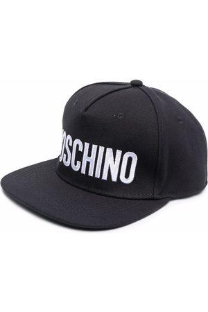 Moschino Heren Petten - Logo-print flat cap