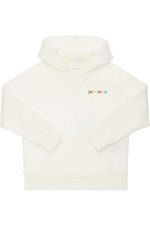 Palm Angels Meisjes Sweaters - Cotton Sweatshirt Hoodie