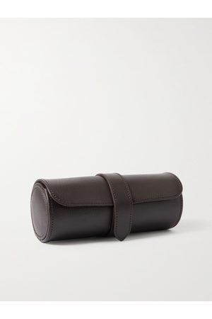 WOLF Blake Full-Grain Vegan Leather Watch Roll
