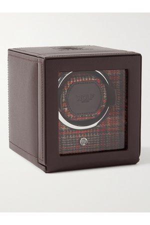 Wolf Heren Horloges - WM Full-Grain Leather Single Watch Winder